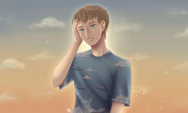 Vitalik Butern anime portrait