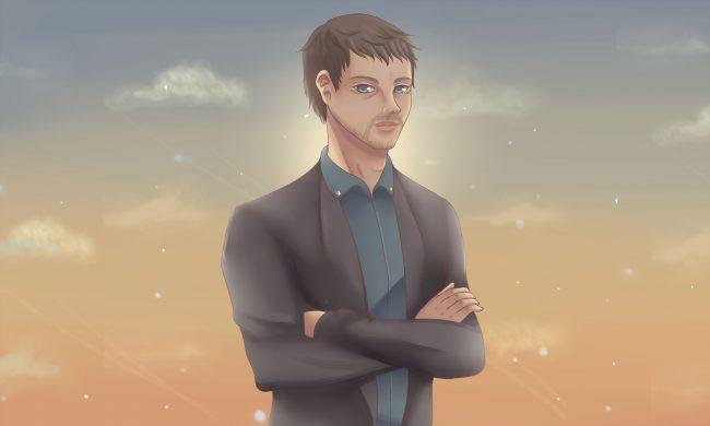 Nick Szabo anime portrait